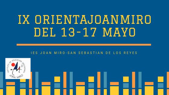 JORNADAS DE ORIENTACIÓN