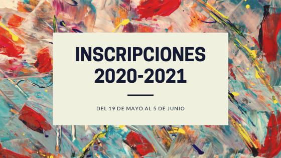 ADMISIÓN DE ALUMNOS CURSO 2020/2021