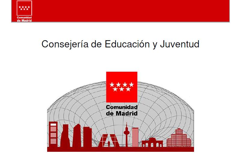 Consejería de Educación y Juventud Comunidad de madrid